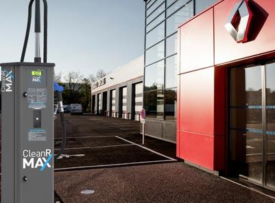 Les pompes de distribution libre service de CleanR MAX® fleurissent dans le réseau RENAULT TRUCKS