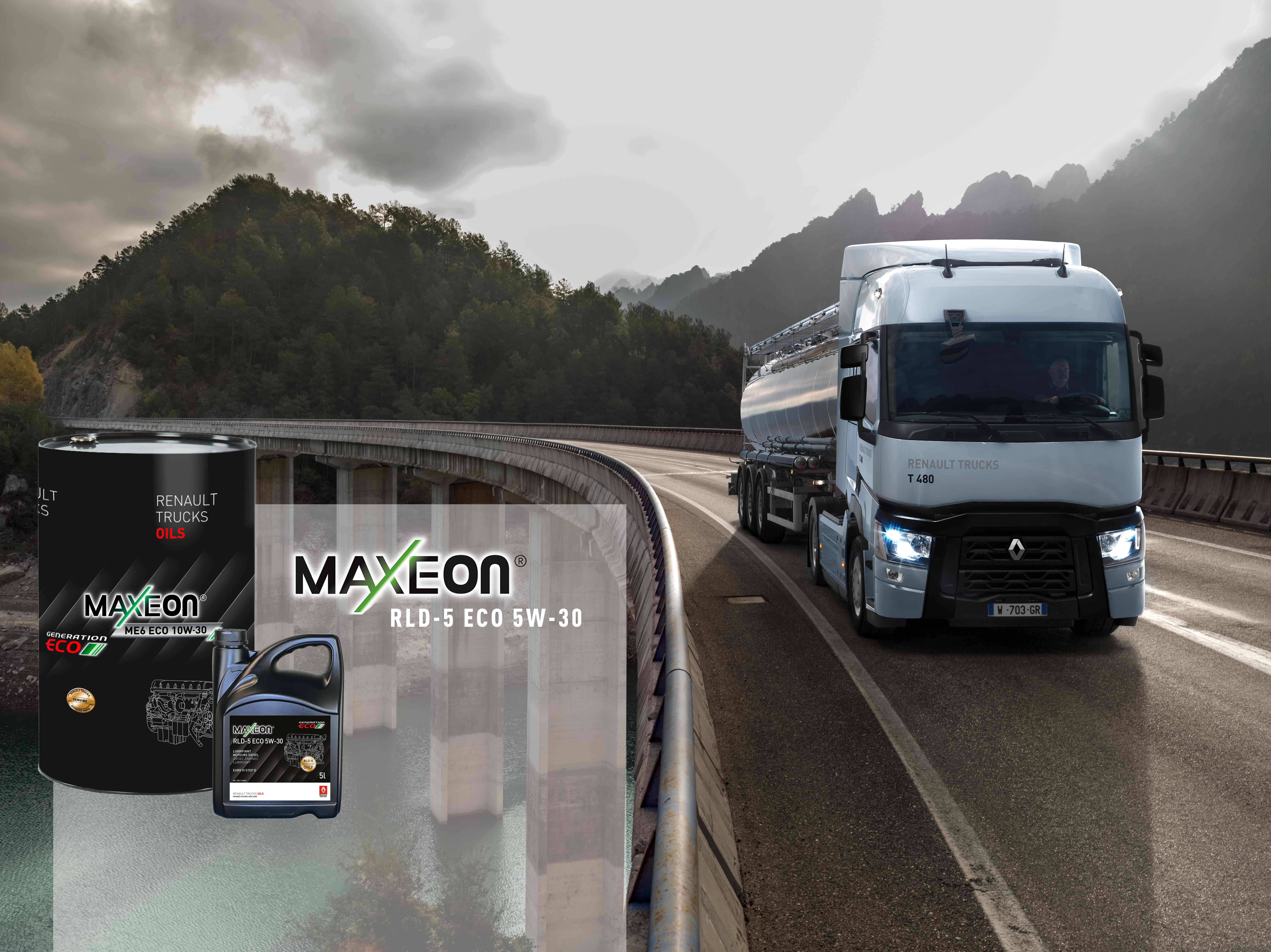 Renault Trucks T 480 moteur DTi 13 step D roulant avec huile dernière génération MAXEON RLD 5