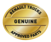Renault Trucks Genuine approved parts