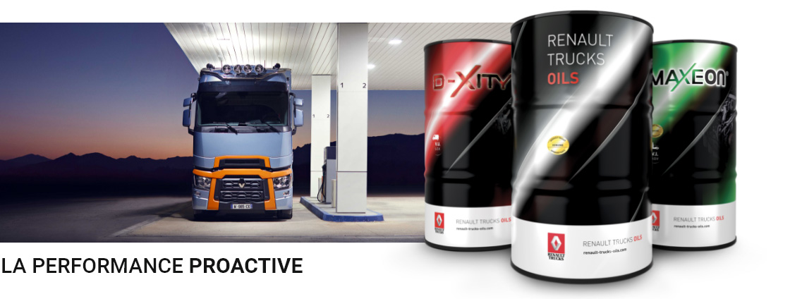 Renault Trucks Oils la performance PROACTIVE