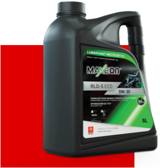 Bidon lubrifiant MAXEON produit ECO ACTIV
