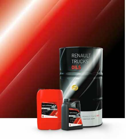 Renault Truck Oils supertrans